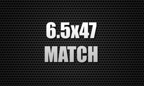 6.5X47 Match