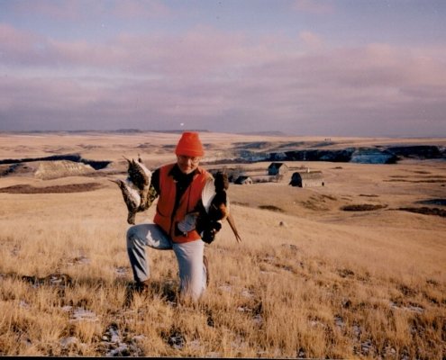 Northeast Montana Post Whitetail Hunt