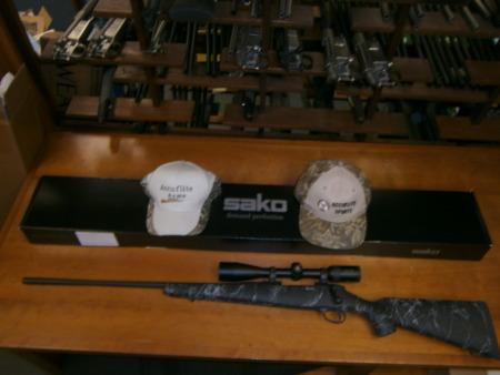 SAKO 85-M Left Hand 6.5x284 Accuflite Arms Custom Kevlar Rifle