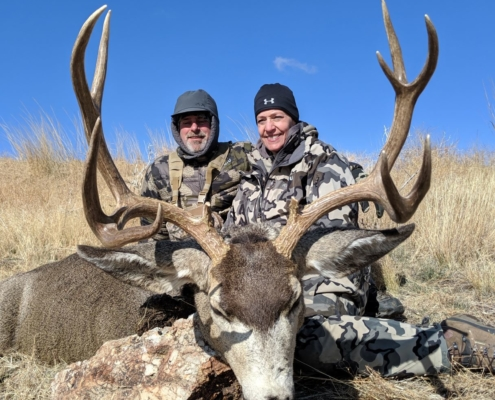 Tamara's Trophy Muley Taken with Accuflite Arms RT100 6.5x284